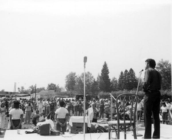 Corky Gonzalez at Bessemer Park, Pueblo