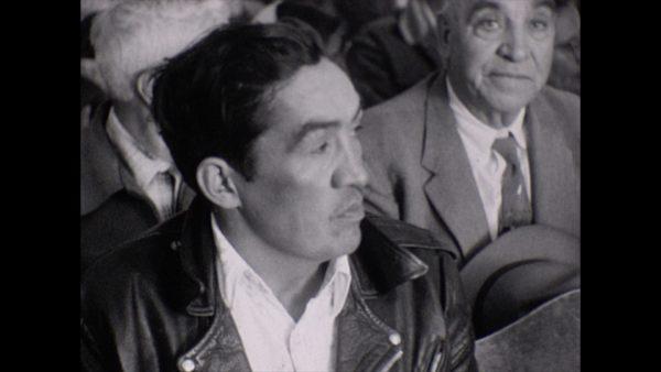 Still from the film on San Luis Range War