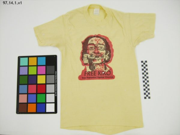 Free Kiko t-shirt in History Colorado collections