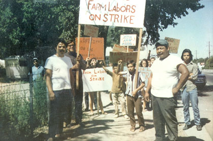 Farm laborers on strike in Pueblo